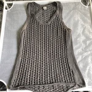 Knitted Converse Tank Top